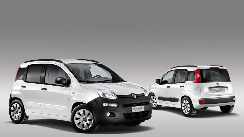 Fiat Panda Van noleggio lungo termine