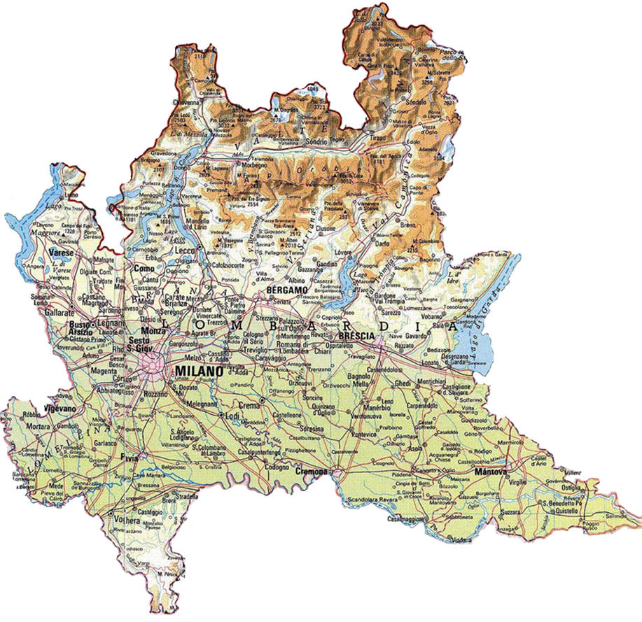 Province Lombardia Cartina.Noleggio Lungo Termine Lombardia Noleggio Lungo Termine